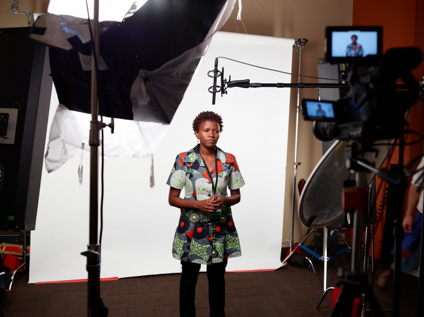 Rosebell Kagumire, Multimedia Journalist in Uganda by Peter Adams