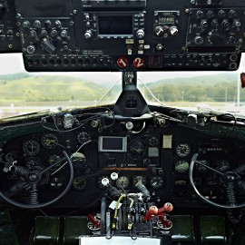Douglas C-41 Cockpit by Peter Adams.