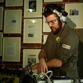 Silent Disco DJ by Peter Adams.