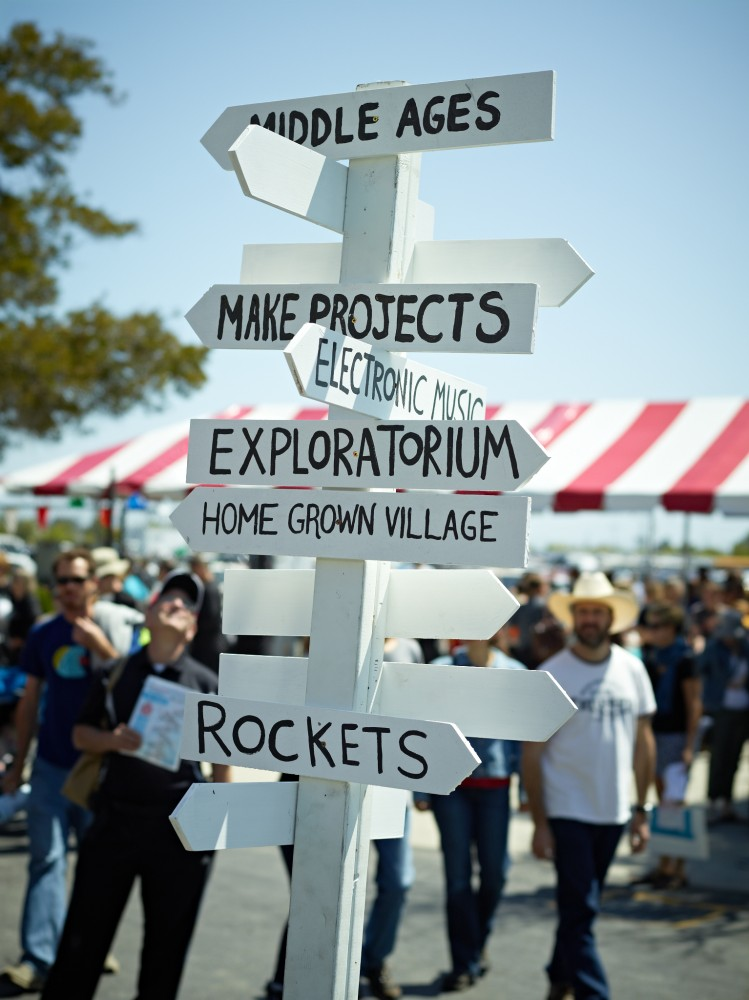 Maker Faire Cross Roads by Peter Adams.