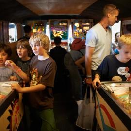 Pinball Trailer by Peter Adams.