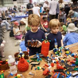 Legos by Peter Adams.