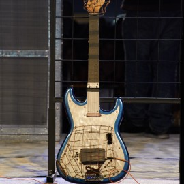 Arc Guitar by Peter Adams.