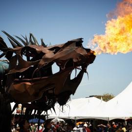 Fire Breathing Dragon by Peter Adams.