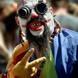 Bizarre Clown by Peter Adams.