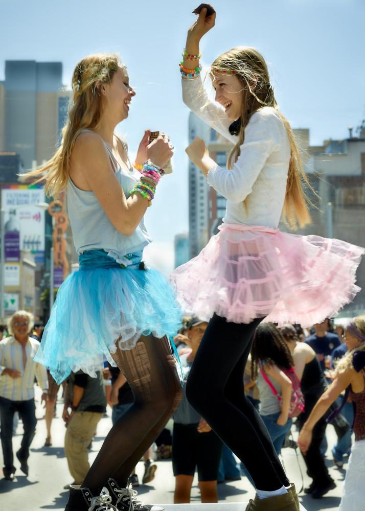 Dancing In The Street by Peter Adams.