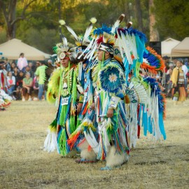 Powwow Dancing by Peter Adams.