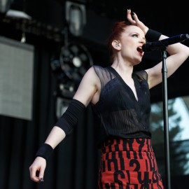 Shirley Manson of Garbage by Peter Adams.