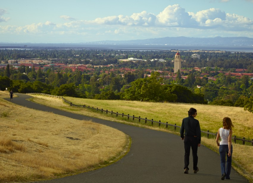 Stanford Campus View by Peter Adams.