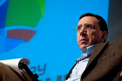 John Markoff, Senior Writer at TheNew York Times by Peter Adams