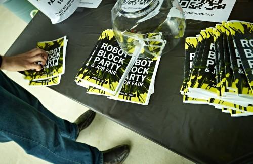 Robot Block Party by Peter Adams.
