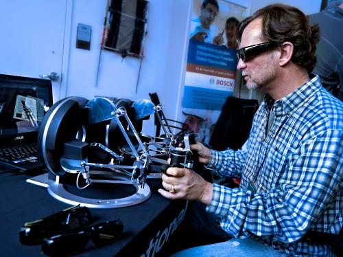 SRI Taurus Robot Operator by Peter Adams.