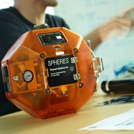 NASA SPHERES Robot by Peter Adams.