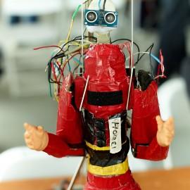 Homer Robot by Peter Adams.