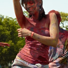 Asha Holi Festival of Colors 2012 by Peter Adams.