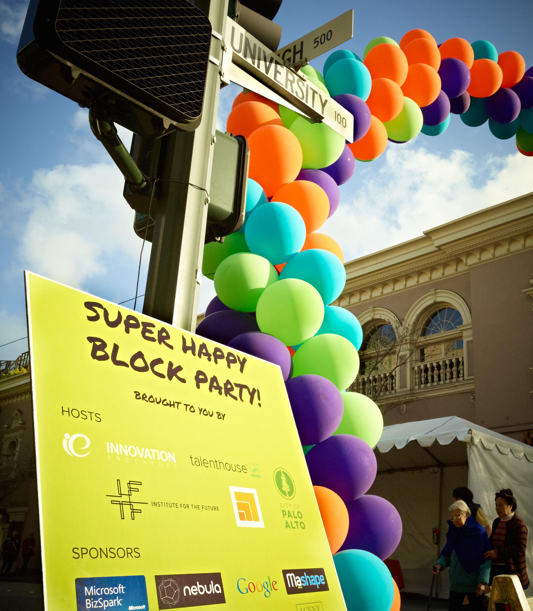 Super Happy Block Party by Peter Adams.