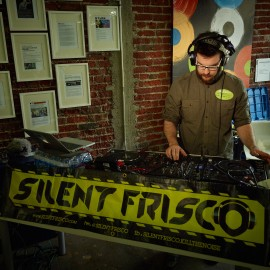 Silent Disco by Peter Adams.