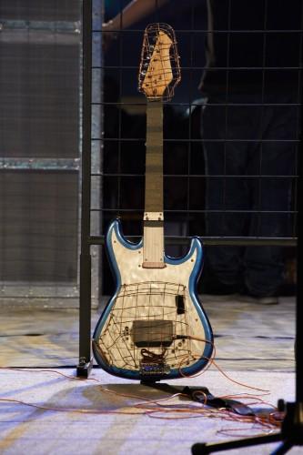 Arc Guitar by Peter Adams.