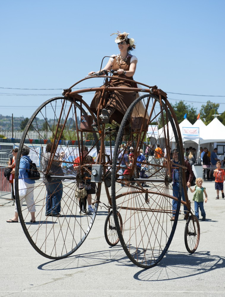 Steampunk Bicycle by Peter Adams.