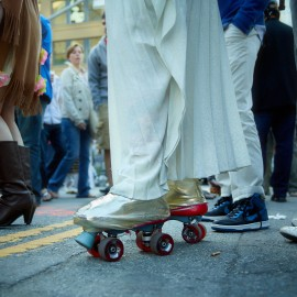 Roller Skates by Peter Adams.