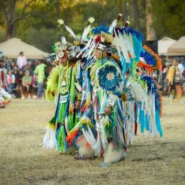Powwow Dancing by Peter Adams.