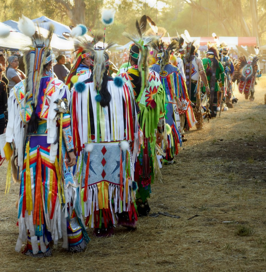 Stanford Powwow held on May 11th, 2012. by Peter Adams.