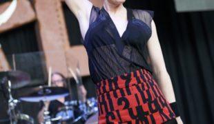Shirley Manson / Garbage by Peter Adams.